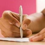 écrire une lettre d'amour
