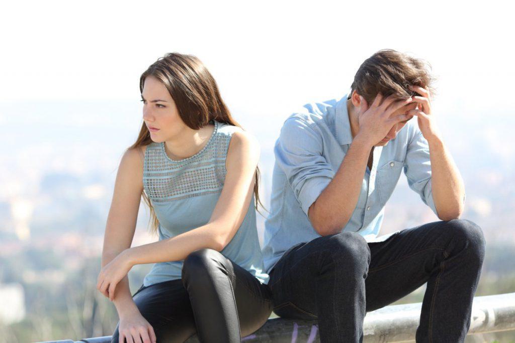 Se réconcilier après une dispute de couple