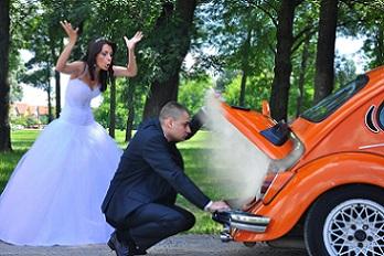 Couple en crise avant le mariage