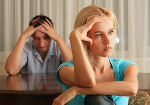 Pause dans un couple
